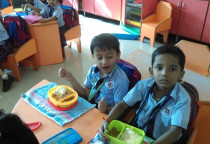 Food Day By Neo Kids (Pav Bhaji)