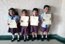 Budding Artist Competition For Jr Kg